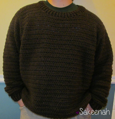 b12b30ac82a24a Notes and Tips on Making the Father Pullover Sweater - link to free crochet  pattern in