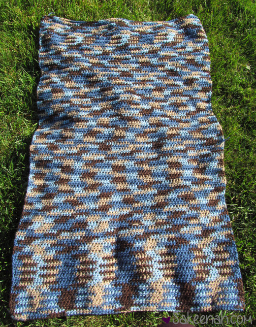 How To Make A Crochet Felted Wool Rug