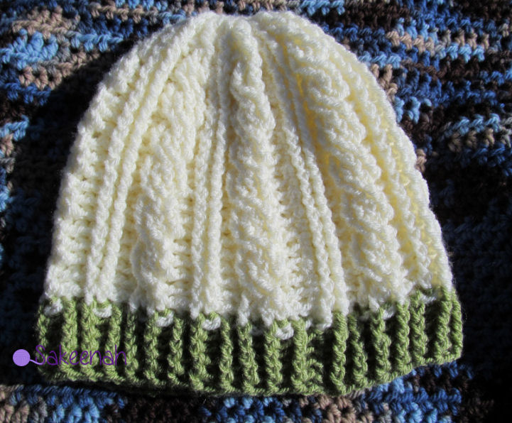 Featured Free Crochet Pattern  Cable Hat by Sarah Arnold - Knit Crush a9cc24b219f9